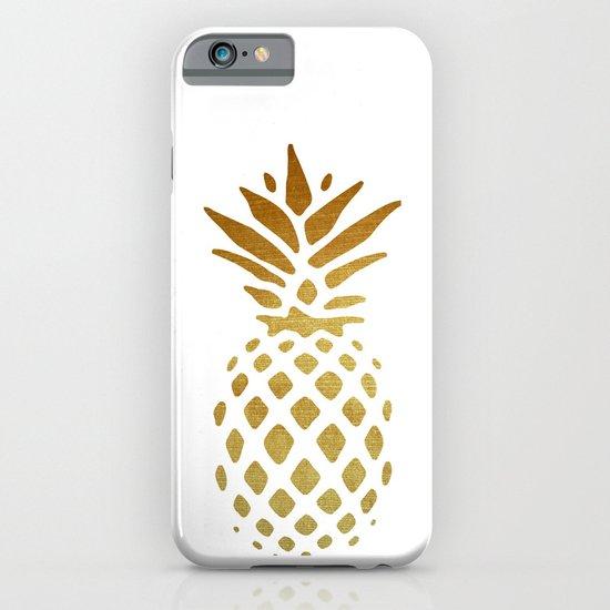 Golden Pineapple iPhone & iPod Case