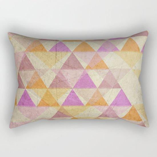 Pyramides Rectangular Pillow