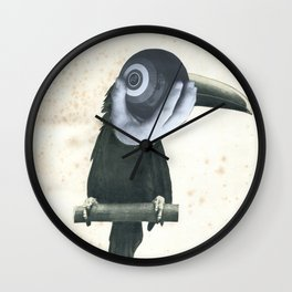 Bowlo Toucan Wall Clock