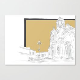Żurrieq - Parish of St. Catherine Canvas Print