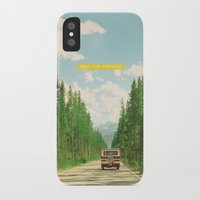 never stop exploring iPhone & iPod Cases featuring NEVER STOP EXPLORING IV by Leslee Mitchell