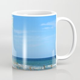 Overseers At The Beach Coffee Mug
