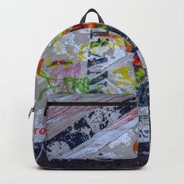 Graffiti on Concrete Backpack