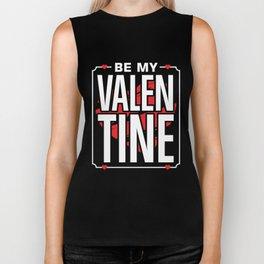 Be my Valentine - Valentine's Day Gift Biker Tank