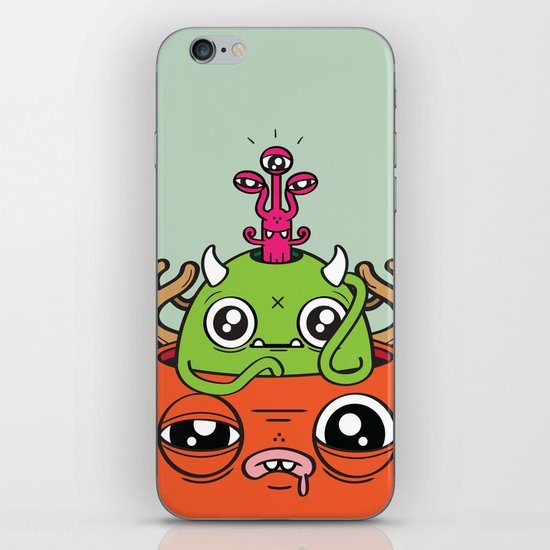 Monster Mind iPhone & iPod Skin