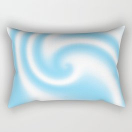 Blue Raspberry Ribbon Candy Fractal Rectangular Pillow