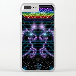 Alicorn Realm Clear iPhone Case