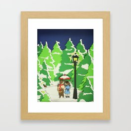 The Land of Spare Oom Framed Art Print