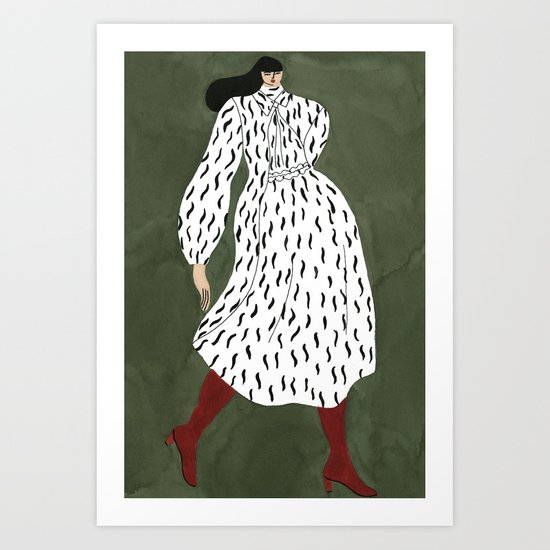 Joseph Fall 17 Art Print