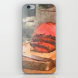 The Meatermelon 1 iPhone Skin