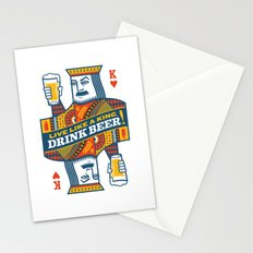 King of Beers Stationery Cards