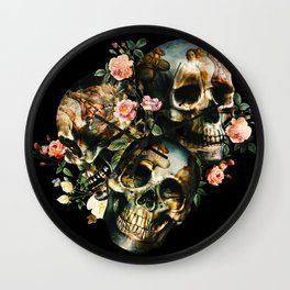 Skull & Venus Wall Clock
