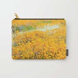 Superbloom of California Poppies by Reay of Light Carry-All Pouch
