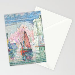 The Port Of La Rochelle, Paul Signac, 1921 Stationery Cards