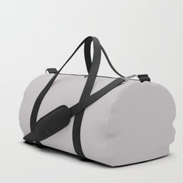Mindful Moment ~ Light Lilac-gray Duffle Bag
