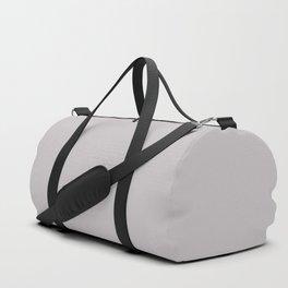 Mindful Moment ~ Light Lilac-gray Duffle Bag