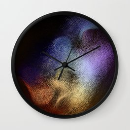Rhino Nose Color Wall Clock