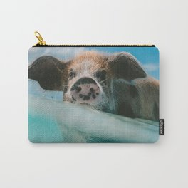 Pig in water Carry-All Pouch