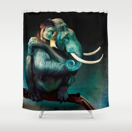 Sum Thing Shower Curtain