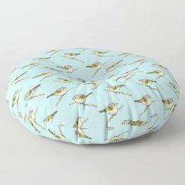 American Redstart Floor Pillow