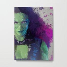 Gamora Metal Print