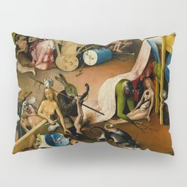 "Hieronymus Bosch ""The Garden of Earthly Delights"" - Hell detail Pillow Sham"