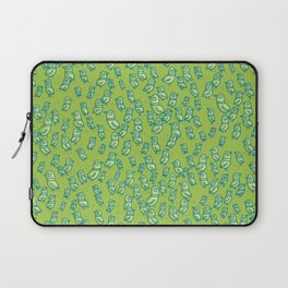 Rockwell Birds - Green Laptop Sleeve