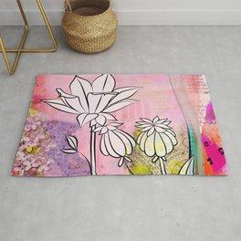 Pod and Daffodil Garden Rug