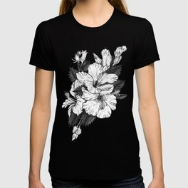 The Chinese Rose & The Tree Frog T-shirt