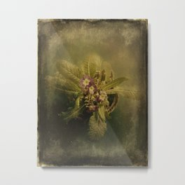 Little Winter Flower Metal Print
