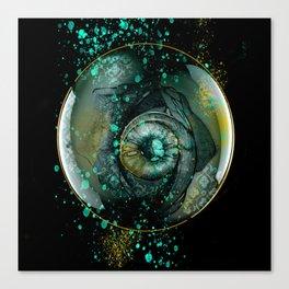 Eye Sphere Canvas Print