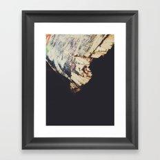 Light & Shadows || Old & Broken Framed Art Print