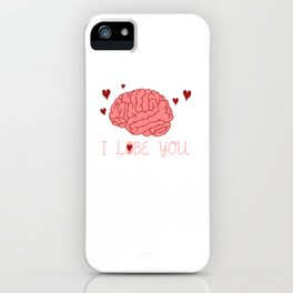 I Lobe You Funny Medicine Physician Medical School Student iPhone Case