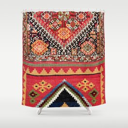 Qashqa'i Nomad Fars Southwest Persian Bag Print Shower Curtain