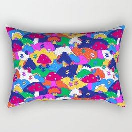 Trippy Hippie Hills Rectangular Pillow