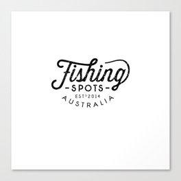 Fishing Spots HQ Canvas Print