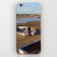 rowing iPhone & iPod Skins featuring Rowing Boats by Jude NH