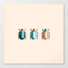 June Bugs Canvas Print