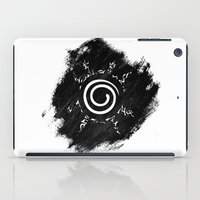 naruto iPad Cases featuring Naruto - Seal by Bradley Bailey