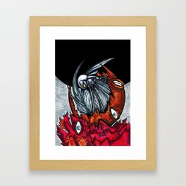 Griffith's ascension Framed Art Print