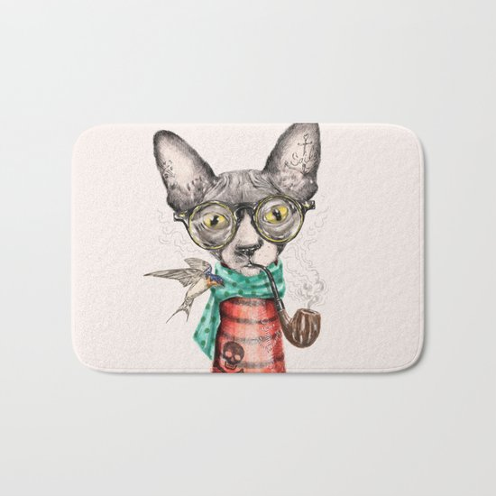 Mr.Peterbald Bath Mat