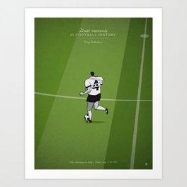 Franz Beckenbauer Art Print