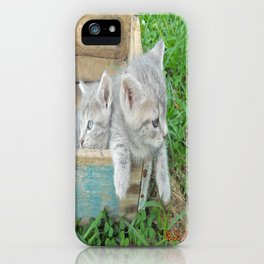 Twins chillin  iPhone Case