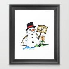 optimist  Framed Art Print