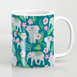 Elephants of the Jungle Coffee Mug