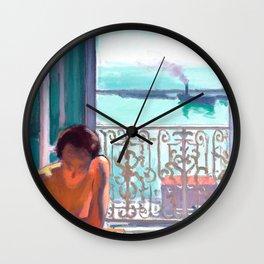 Albert Marquet - Contre-Jour, Alger - Contre Jour, Algiers Wall Clock