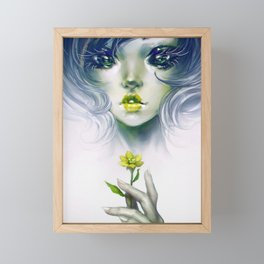 Quixotic - Alien or fairy? Framed Mini Art Print