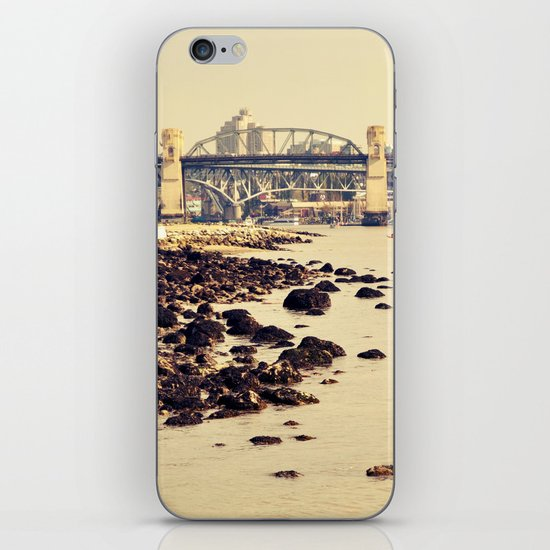 rocks to burrard iPhone Skin