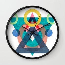 Memefis Wall Clock