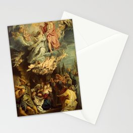 Peter Paul Rubens - Coronation of the Virgin Stationery Cards